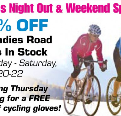Ladies Night Out Sale